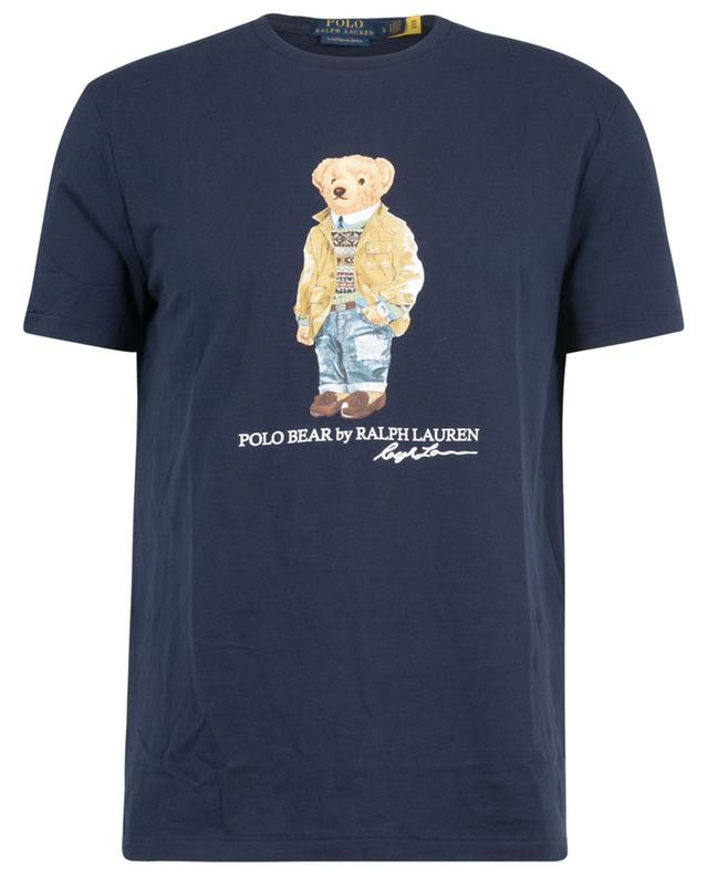 T-shirt slim en jersey imprimé Polo Bear Custom Slim POLO RALPH LAUREN