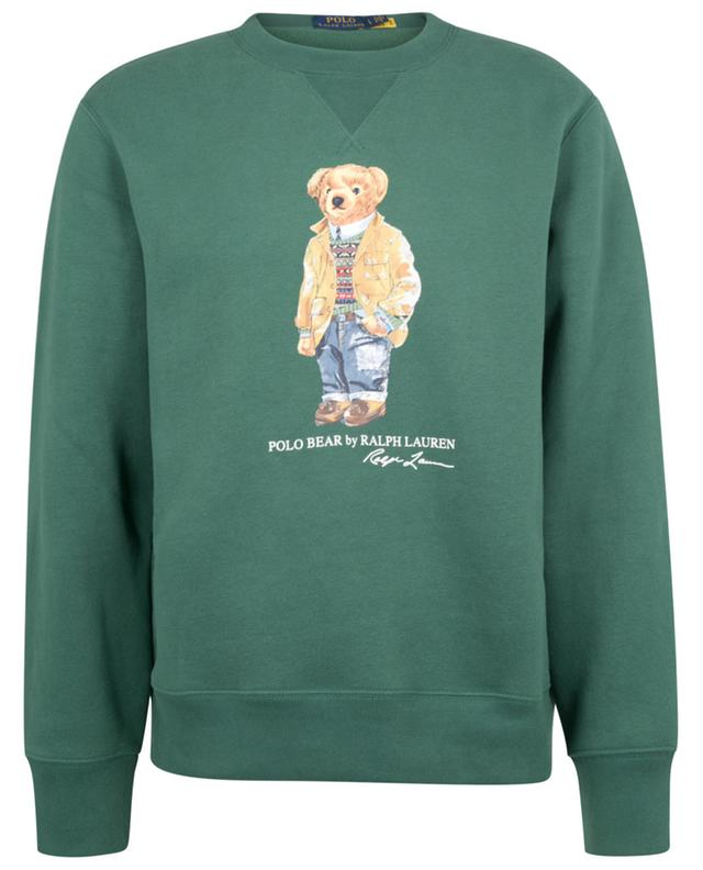 Sweat-shirt à col rond imprimé Polo Bear POLO RALPH LAUREN