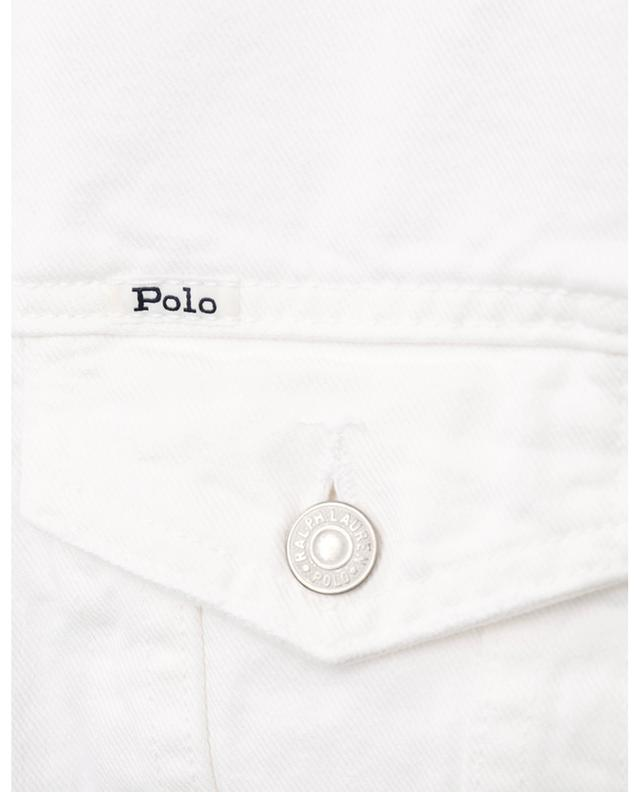 Jeansjacke mit Logo POLO RALPH LAUREN