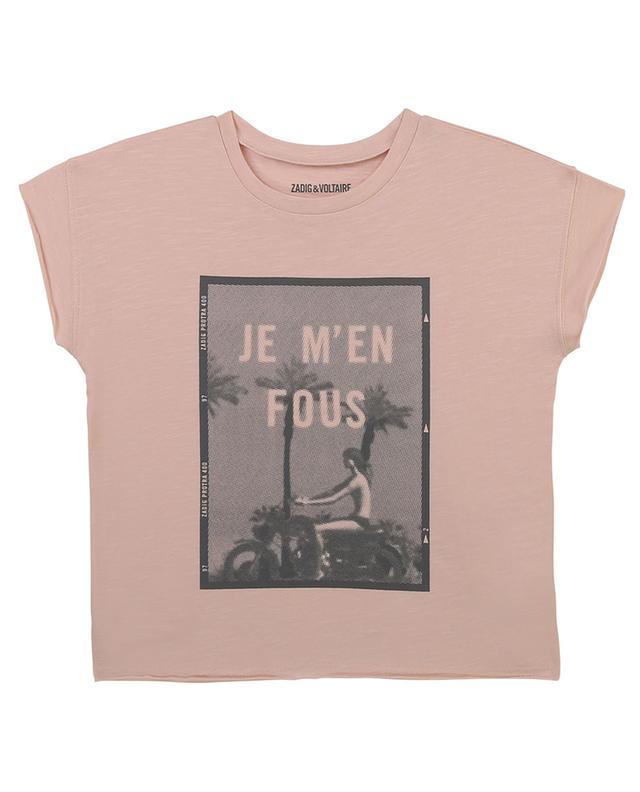 T-shirt fille imprimé logo Jo ZADIG & VOLTAIRE