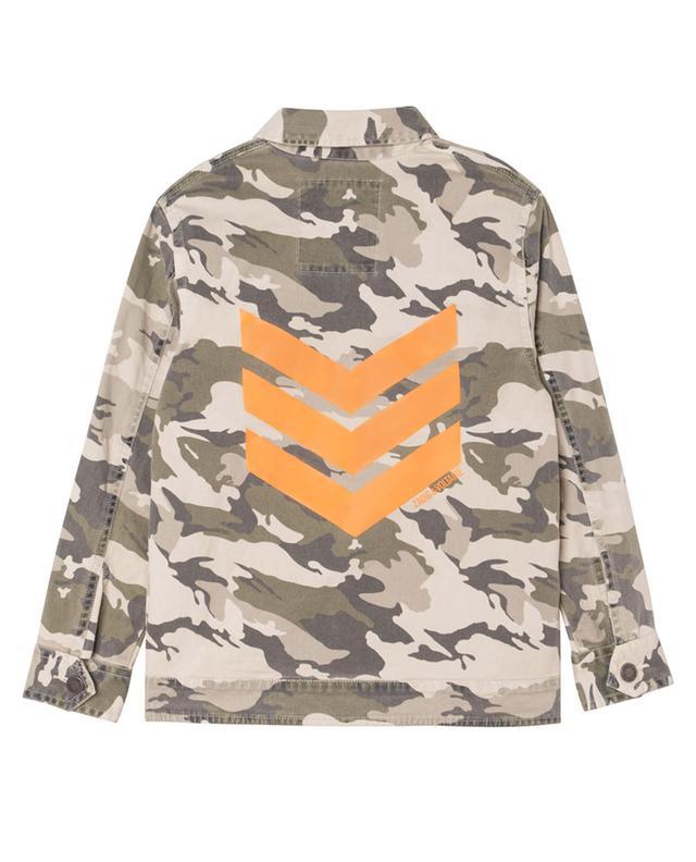 Veste garçon en gabardine imprimé camouflage Kayak ZADIG & VOLTAIRE