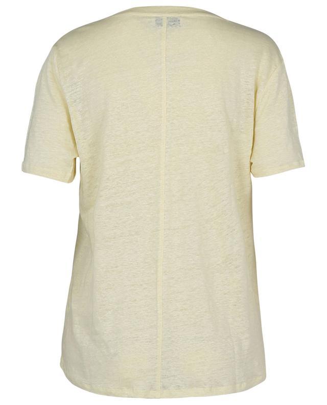 T-shirt en lin à col rond et manches courtes BONGENIE GRIEDER