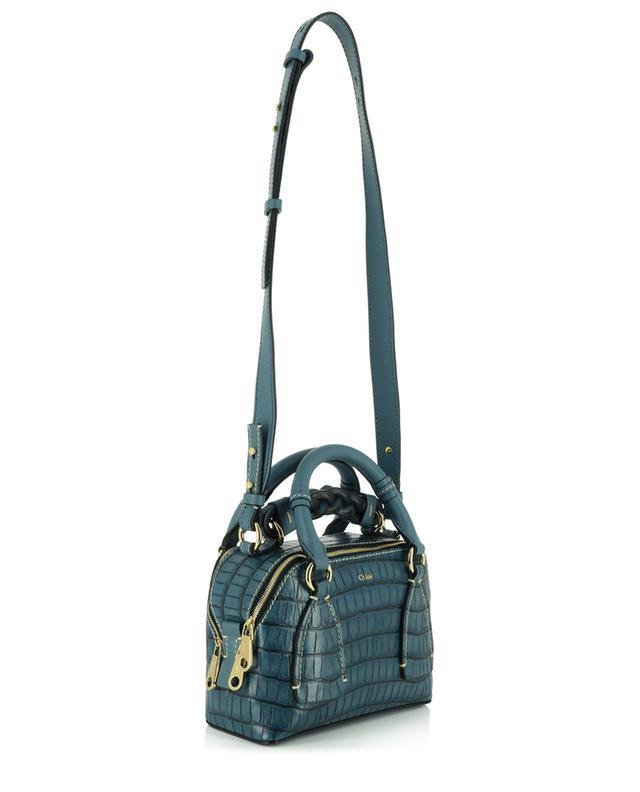 Petit sac à main en cuir effet crocodile Daria Small Day CHLOE