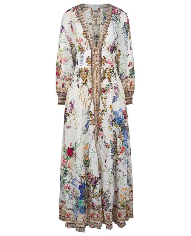 Robe empire imprimée longue By The Meadow CAMILLA