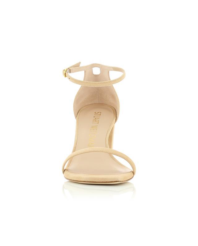 Sandalen aus Wildleder mit Blockabsatz Amelina Block 80 STUART WEITZMAN