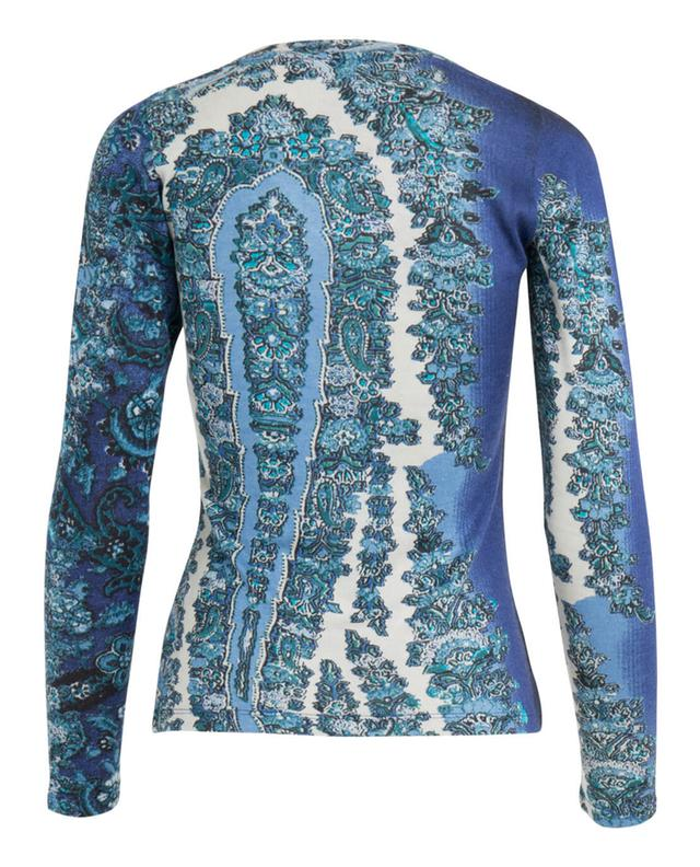 Silk, wool and cashmere top PASHMA