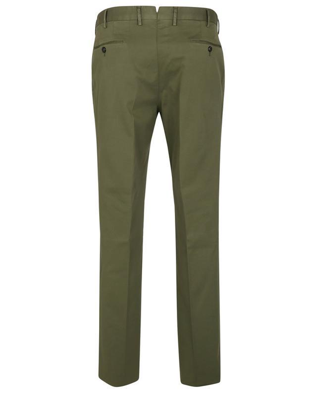 Pantalon slim en sergé de coton et lyocell stretch PT TORINO