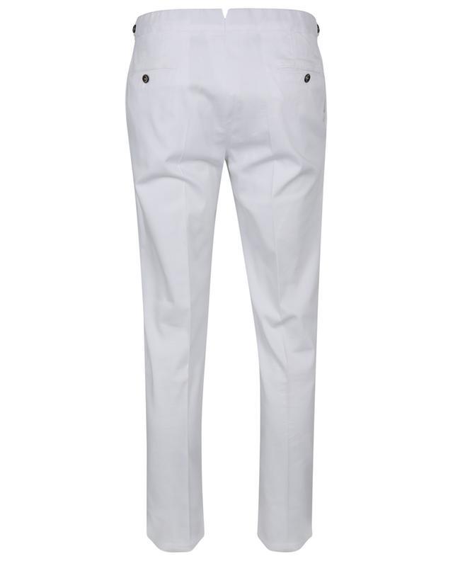 Pantalon en coton mélangé texturé Superslim Fit PT TORINO