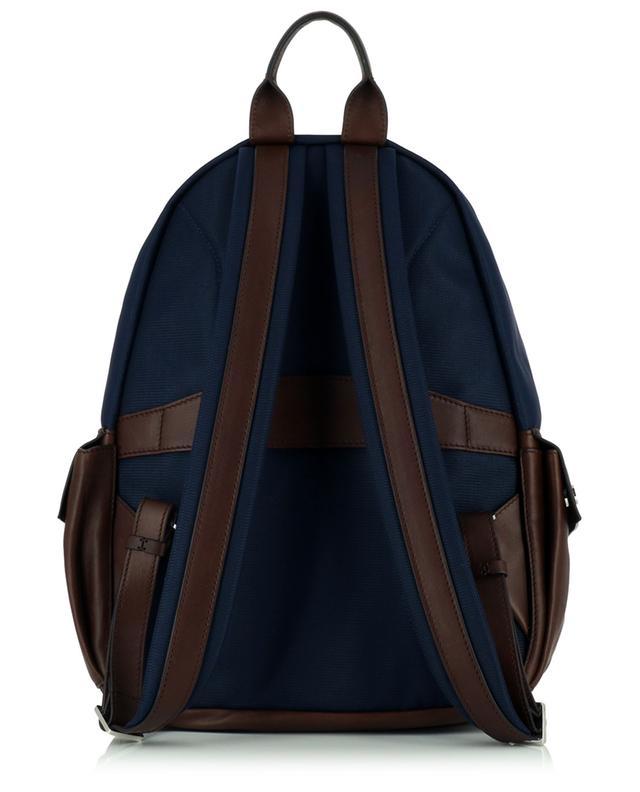 Sac à dos en nylon et cuir grainé Travel BRUNELLO CUCINELLI