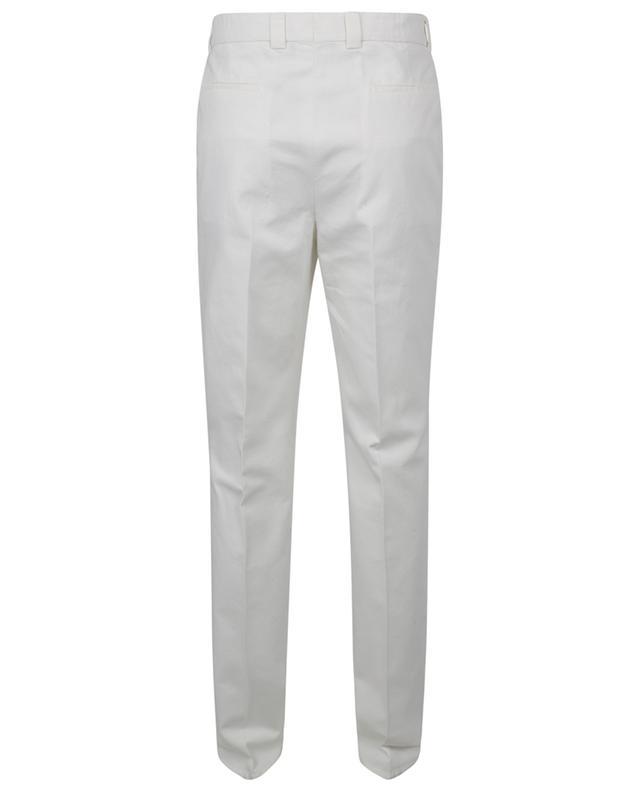 Pantalon chino à pinces en coton Leisure Fit BRUNELLO CUCINELLI