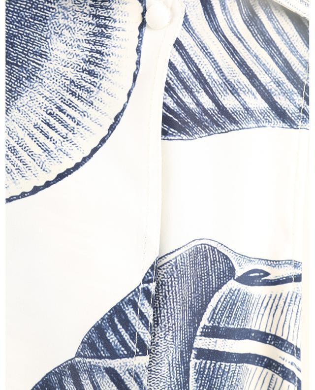 Robe courte en soie imprimée coquillages Andrea STELLA MCCARTNEY