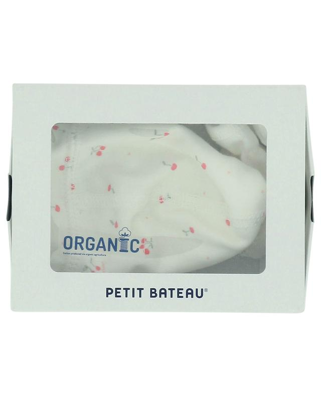 Baby gift set beanie and mittens PETIT BATEAU