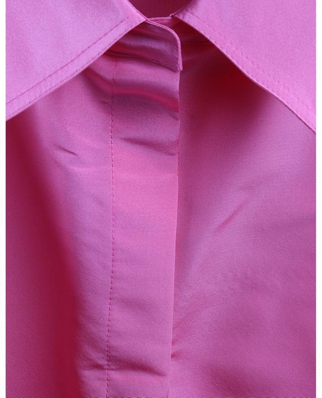 Oversize-Hemdjacke aus Seiden-Faille VALENTINO