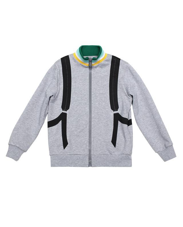 Sweat-shirt zippé garçon imprimé Fendi Backpack FENDI