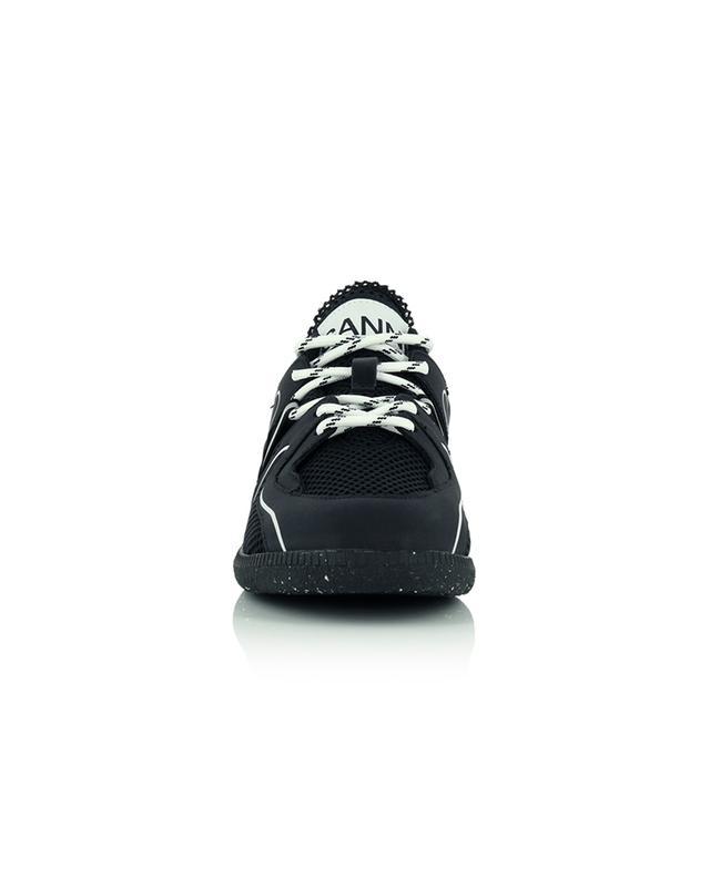 Baskets basses à lacets Sporty Mix Retro GANNI