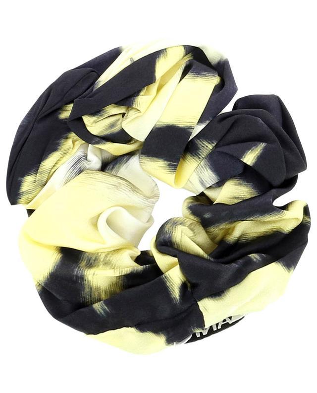 Élastique pour cheveux en satin de soie Phantom GANNI