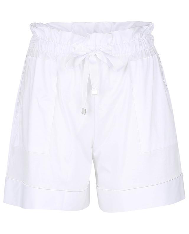Shorts aus Jersey Milano BLUE LEMON
