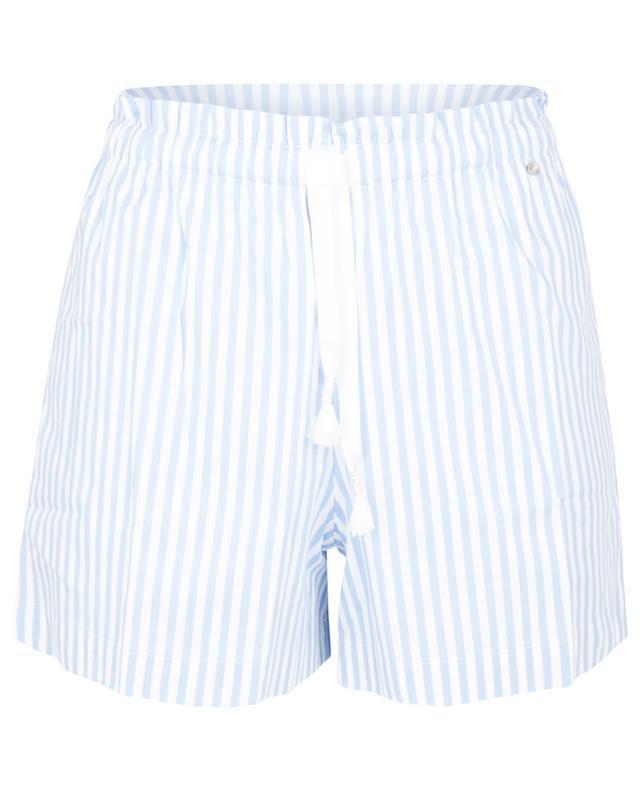 Short en coton mélangé Gigi BLUE LEMON