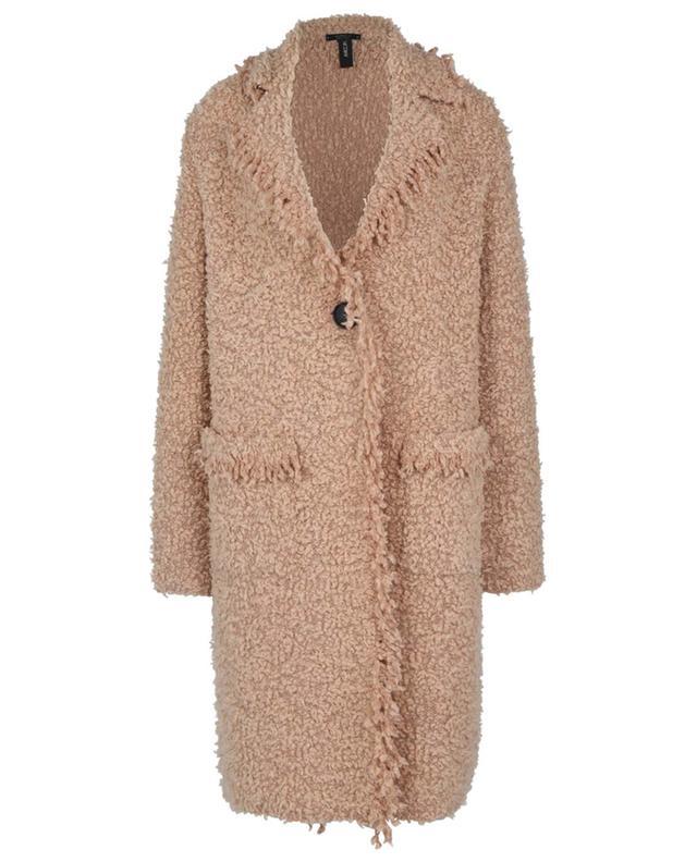 Manteau léger en maille effet peluche MARC CAIN