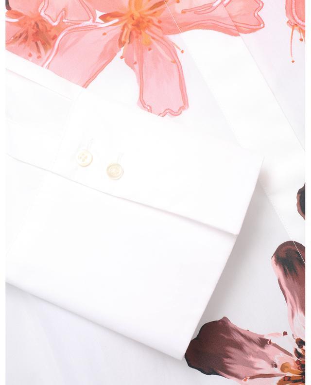 Chemise en popeline imprimée fleurs MARC CAIN