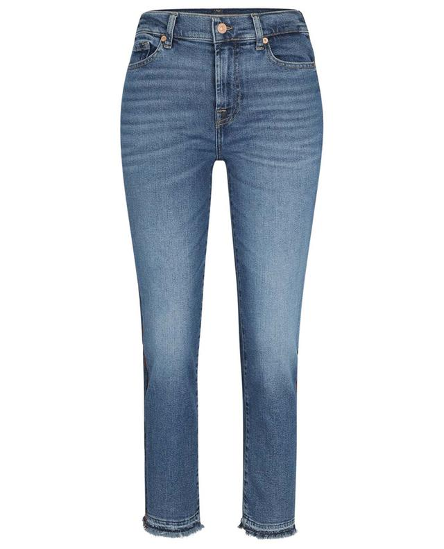 THE STRAIGHT CROP LUXE VINTAGE B-SIDE 7 FOR ALL MANKIND