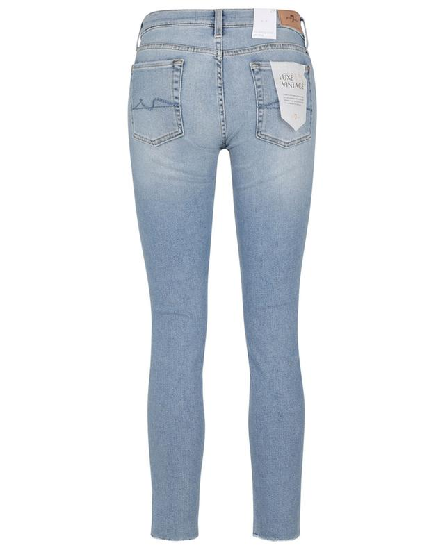Jean effiloché The Skinny Crop Luxe Vintage Bright Side 7 FOR ALL MANKIND