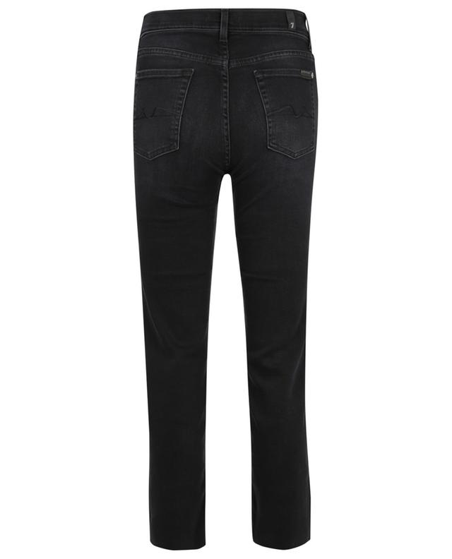 Jean droit The Straight Crop Soho Black 7 FOR ALL MANKIND