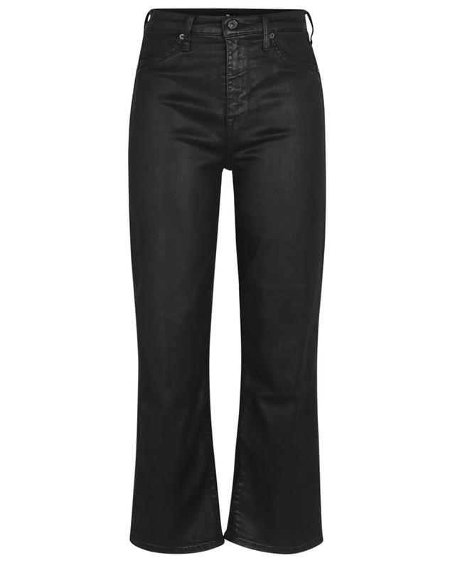 CROPPED ALEXA COATED 7 FOR ALL MANKIND