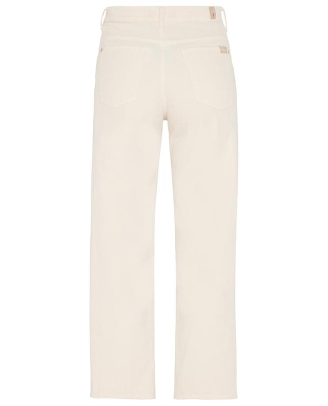 THE MODERN STRAIGHT CORDUROY WINTER WHITE 7 FOR ALL MANKIND