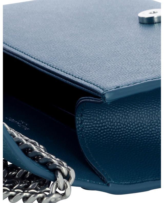 Petit sac porté épaule en cuir grain de poudre New Kate SAINT LAURENT PARIS