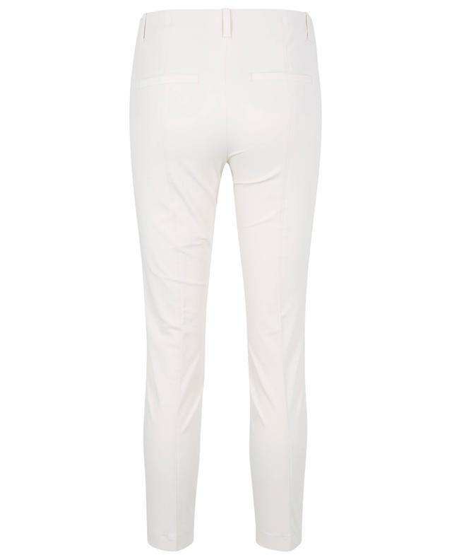 Pantalon slim en crêpe Ros Seam Cropped CAMBIO