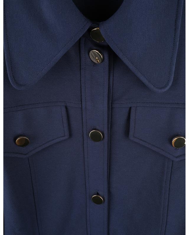 Robe chemise courte en jersey Milano SEE BY CHLOE