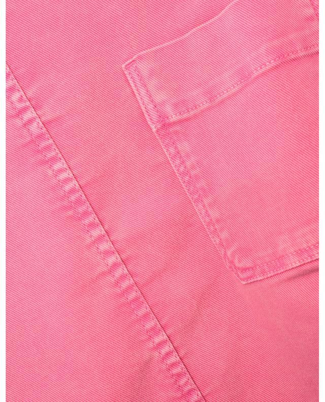 Top à manches courtes et poche poitrine en denim SEE BY CHLOE
