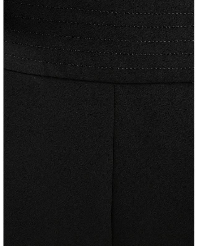 Pantalon à pinces en crêpe embelli de surpiqûres SEE BY CHLOE