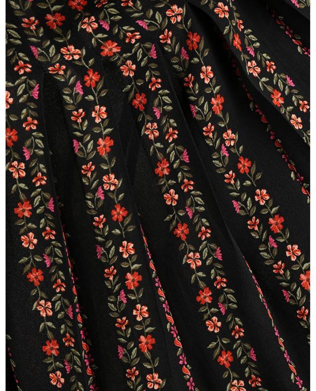 Blouse plissée fleurie ornée de volants SEE BY CHLOE