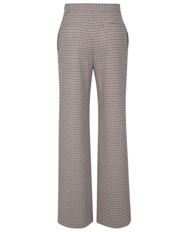 Pantalon à pont large évasé à carreaux SEE BY CHLOE
