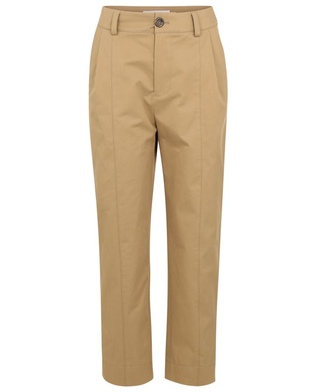 Pantalon carotte taille haute en gabardine SEE BY CHLOE