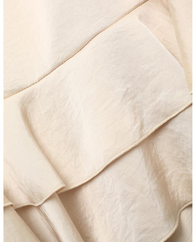Robe courte en satin à volants SEE BY CHLOE