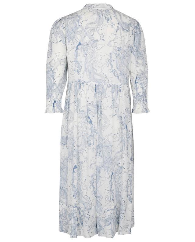 Robe midi ample en crépon ornée d'un imprimé poétique SEE BY CHLOE