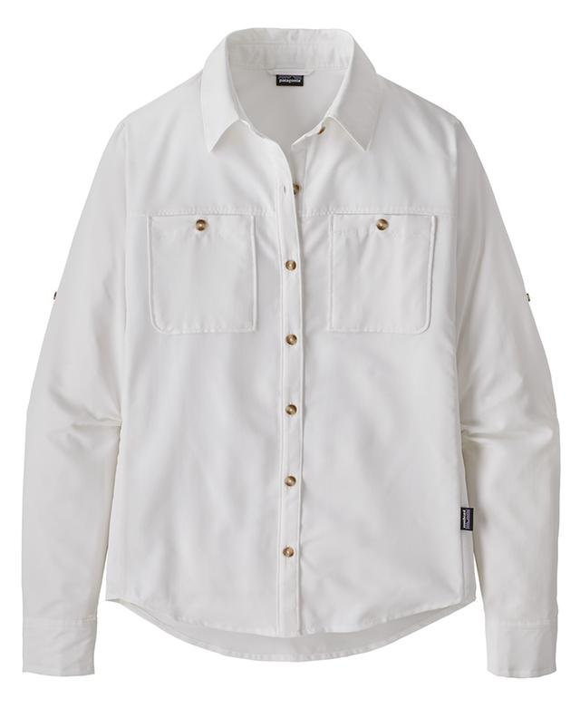 Slim-fitted outdoor shirt UPF 50+ PATAGONIA