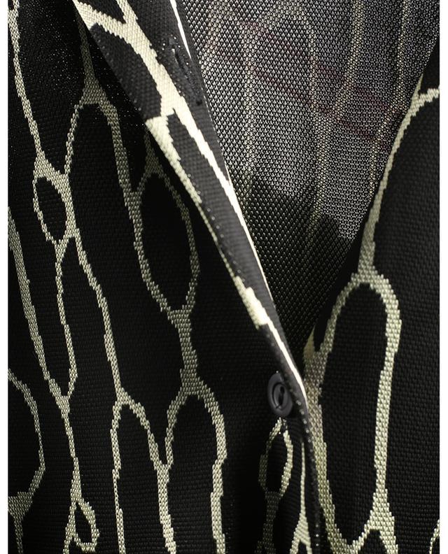 Robe longue boutonnée en maille M MISSONI