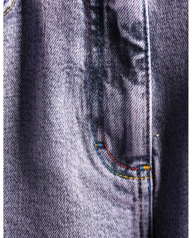 Jean slim à broderies logo multicolores M MISSONI