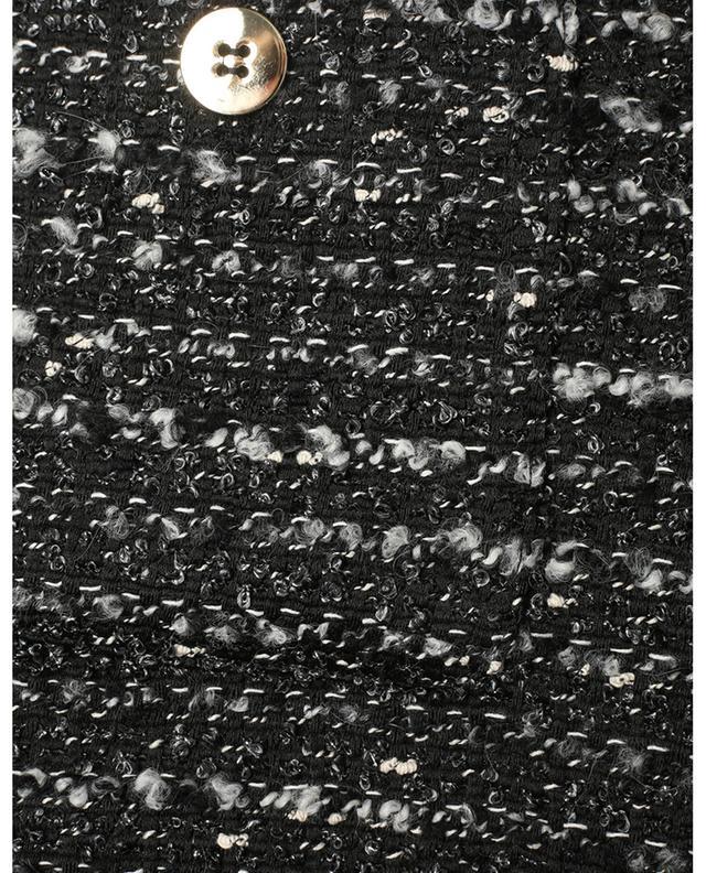 Minijupe trapèze en tweed Pupo IBLUES