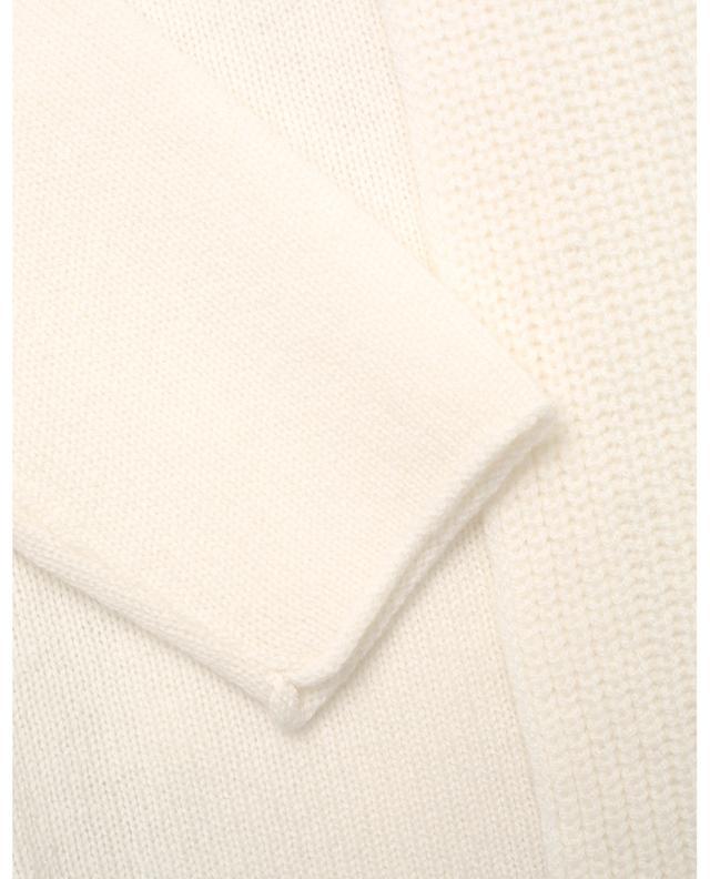 Cardigan ouvert en laine et cachemire à col châle PRINCESS