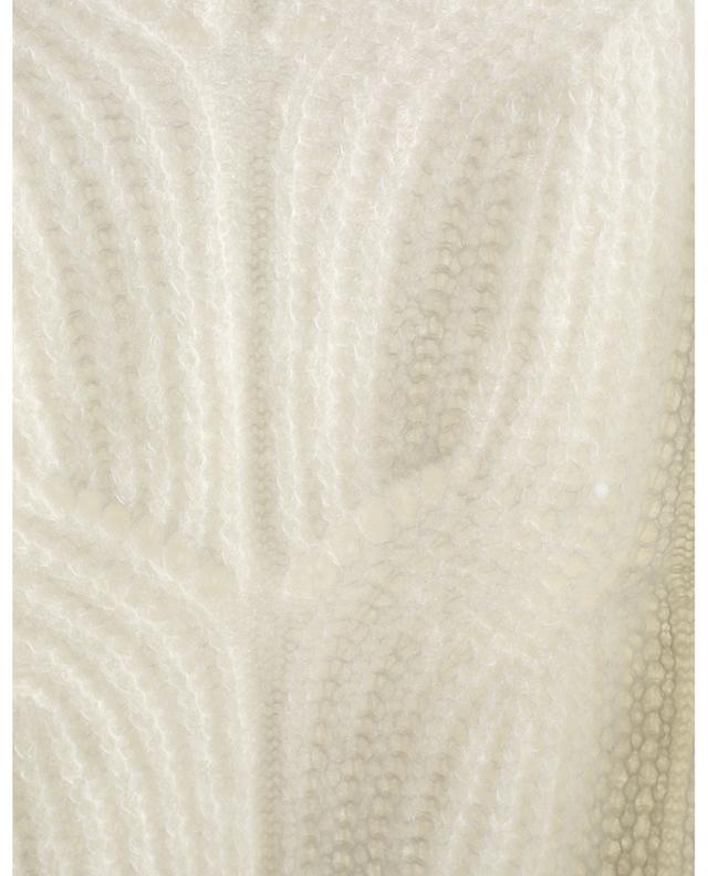 Pull à col rond en maille de laine PRINCESS