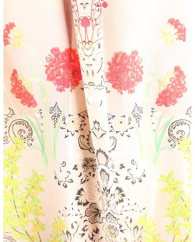 Chemise oversize en crêpe de soie imprimé fleurs ETRO