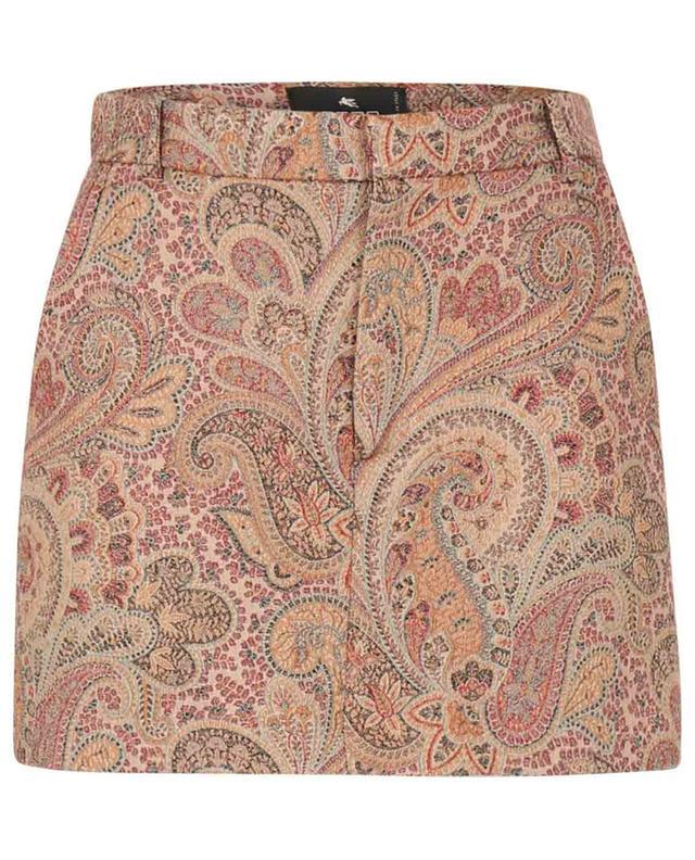 Jupe-short en jacquard motif Paisley ETRO