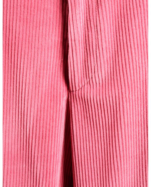 Pantalon évasé taille haute en velours côtelé ETRO