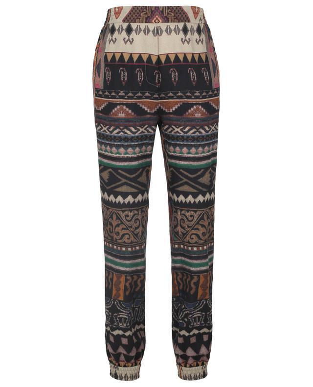 Pantalon en sergé esprit jogging imprimé Ikat ETRO
