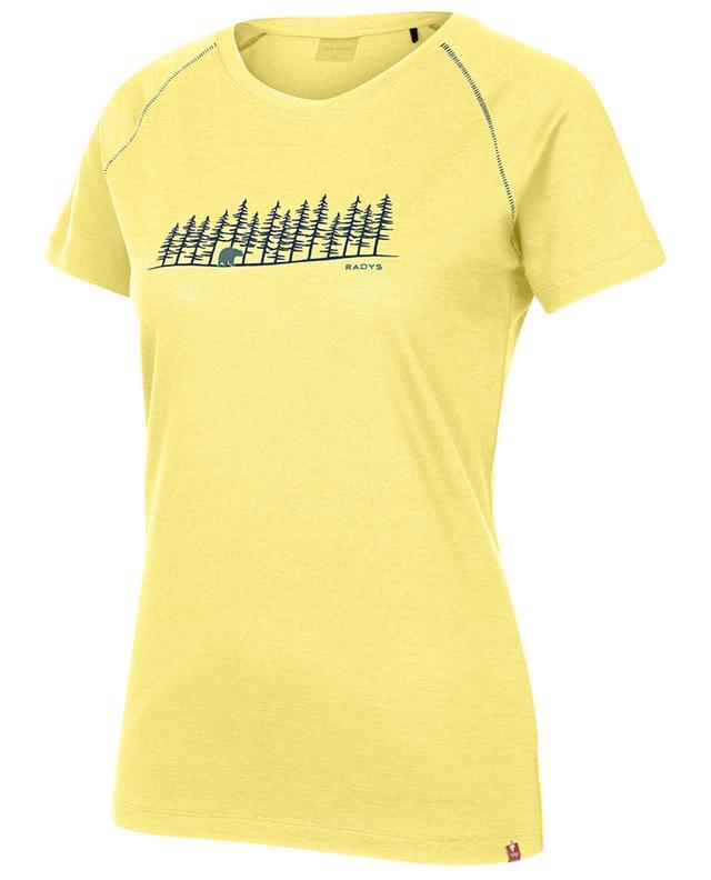 R9W light merino T-shirt Bear RADYS